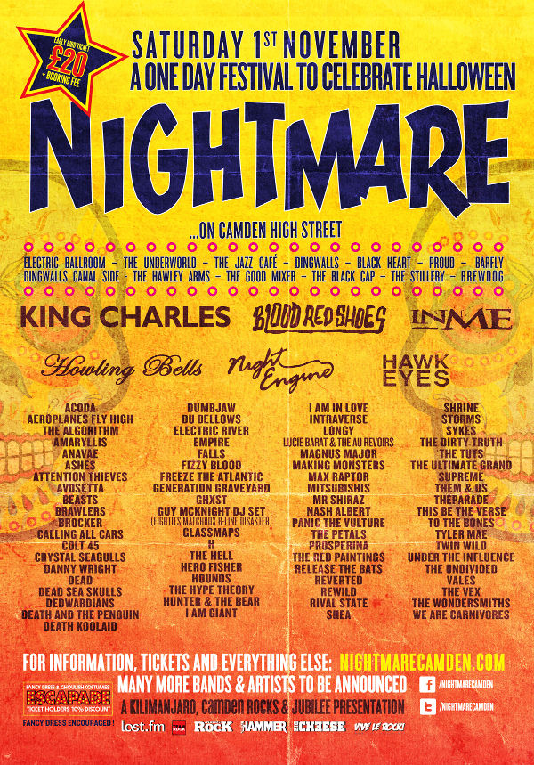 Nightmare Festival adds more names to Halloween party, including Blood ...