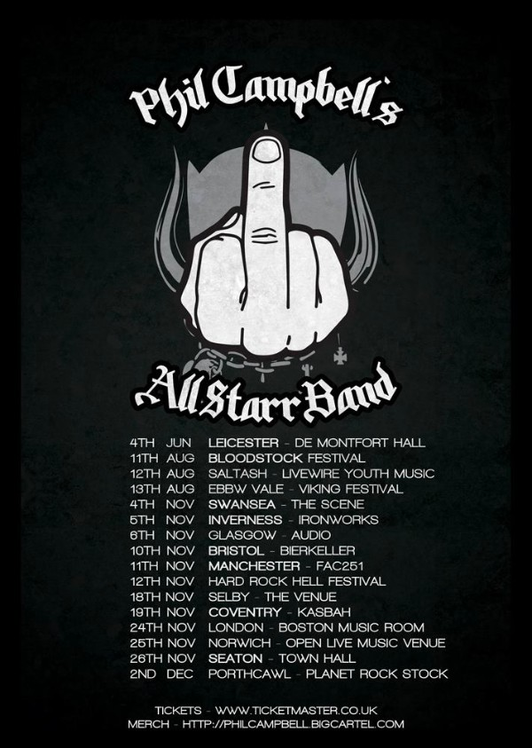 phil campbell tour